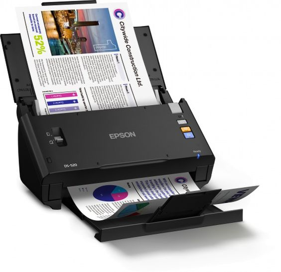 Сканер Epson WorkForce DS-520N
